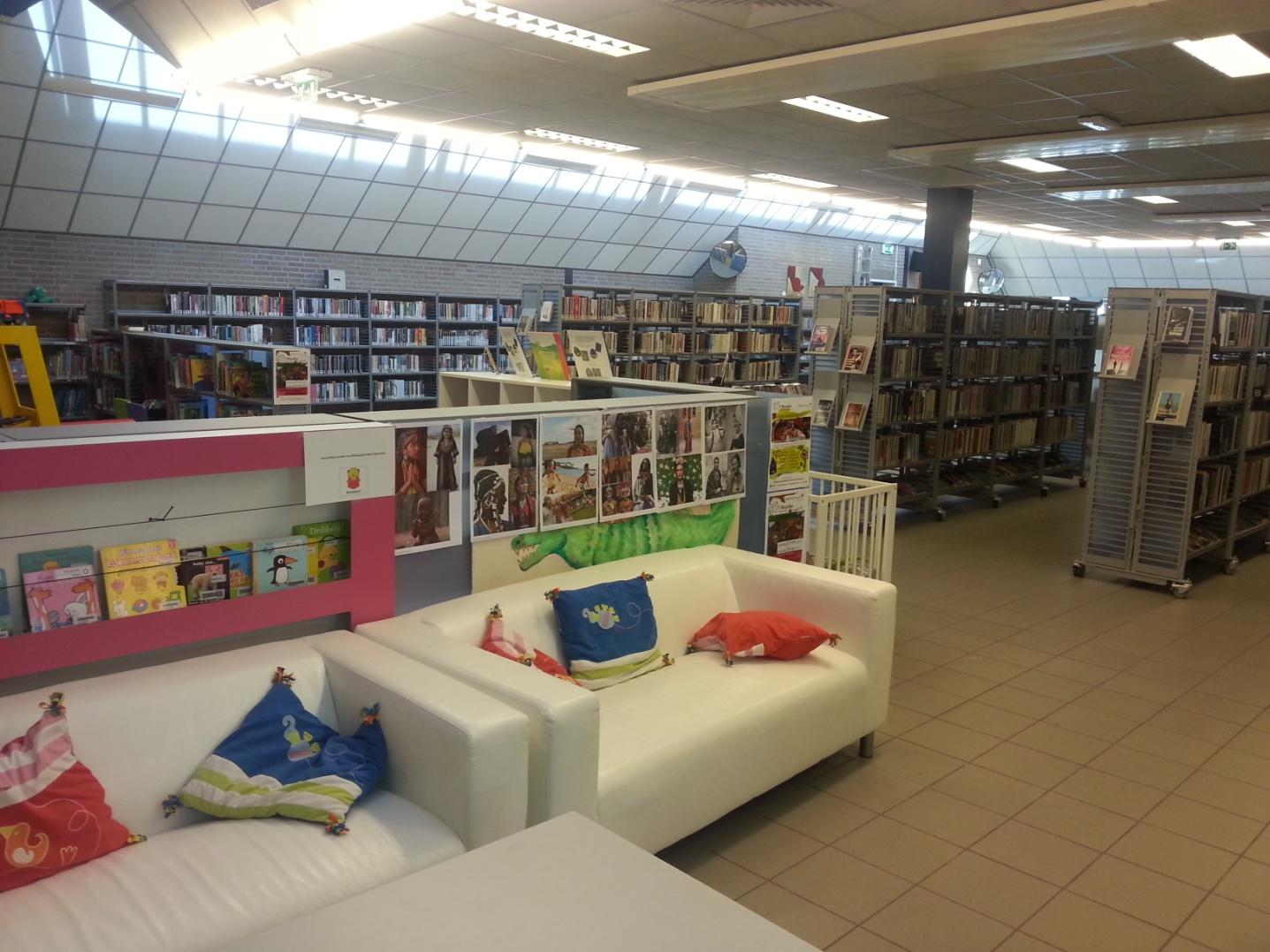 De Bibliotheek, meer dan een uitleen van boeken