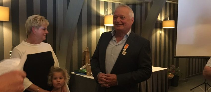 Koninklijke onderscheiding voor Jan Smolenaars