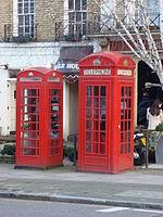 Telefooncellen in het gemeentehuis
